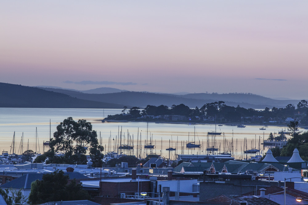 Dawn on Sandy Bay
