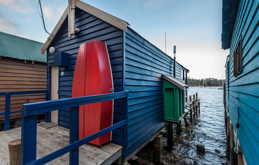 One of the most important boathouses in the row...