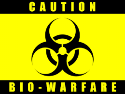 Biowarfare  As tensions heighten between the U.S. and North Korea, Supreme Leader Kim Jong Un has unveiled their newest tactic: biowarfare. The US government has received intel that 4 inbound passenger planes have been contaminated by a new, aggressive virus strain, genetically engineered by North Korean scientists. The virus seems to have been converted to a weaponized aerosol. The fatality rate is currently unclear, but some passengers are already showing symptoms. How will the U.S. government prevent the spread of the highly infectious disease? How will they develop a treatment/cure? How will international organizations contribute to or react against the US response? Will the US military respond to this act of war? Will you be able to save the country?