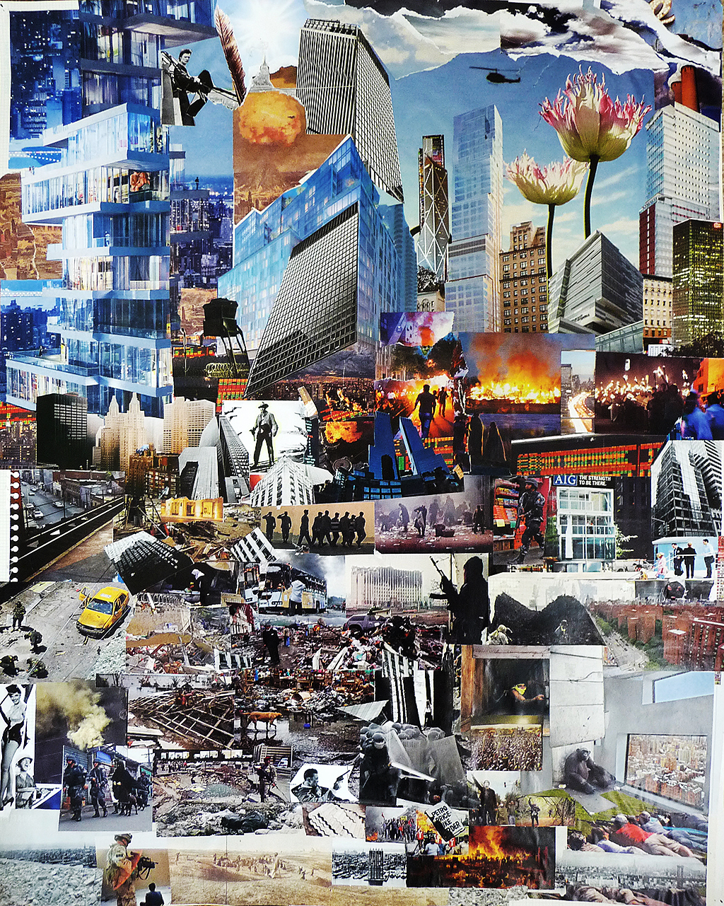 The Big Picture, 2008–2010 Collage