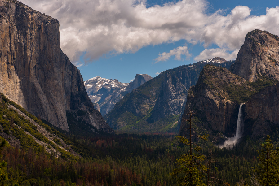 Tunnel View, Yosemite Valley, Calif.