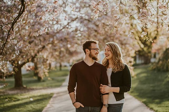 I wish I could take credit for this one, because @hannahvaccarophotography did an awesome job in our mini photo session. She captured some really great moments between Meredith and I.  Glad we found her to shoot our wedding next year!
