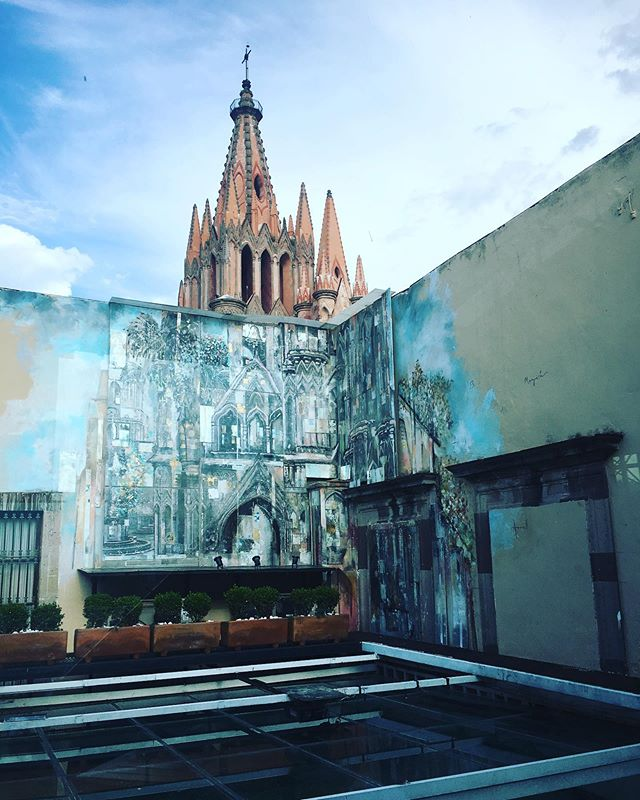 #dopeart #art #sanmiguel #catedral