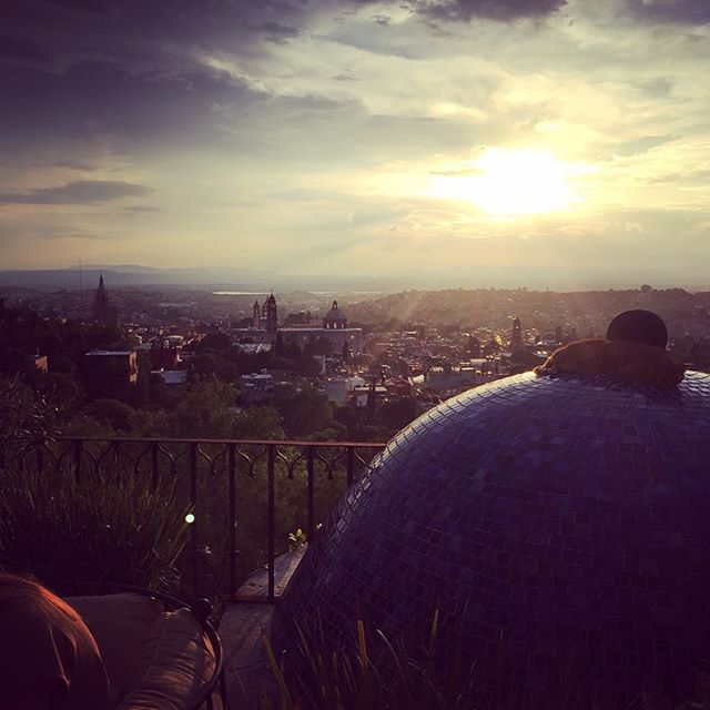 #sunset in #sanmigueldeallende