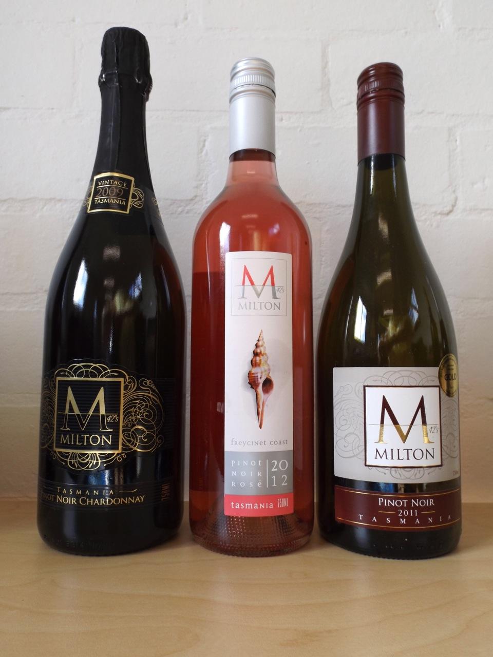 MILTON - Brand design, illustration, wine label design and stationery design.