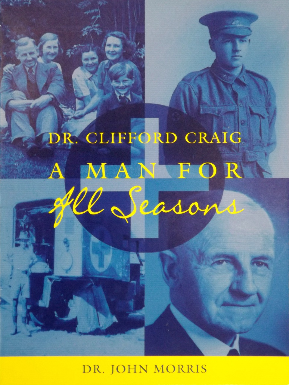 DR CLIFFORD CRAIG. A Man For All Seasons. - Book design