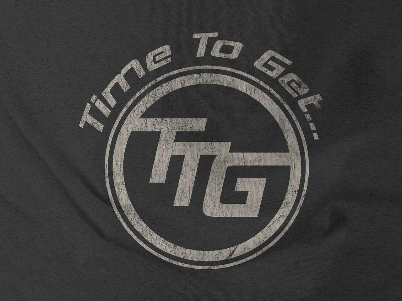TIME TO GET... - Branding, apparel and social media design.