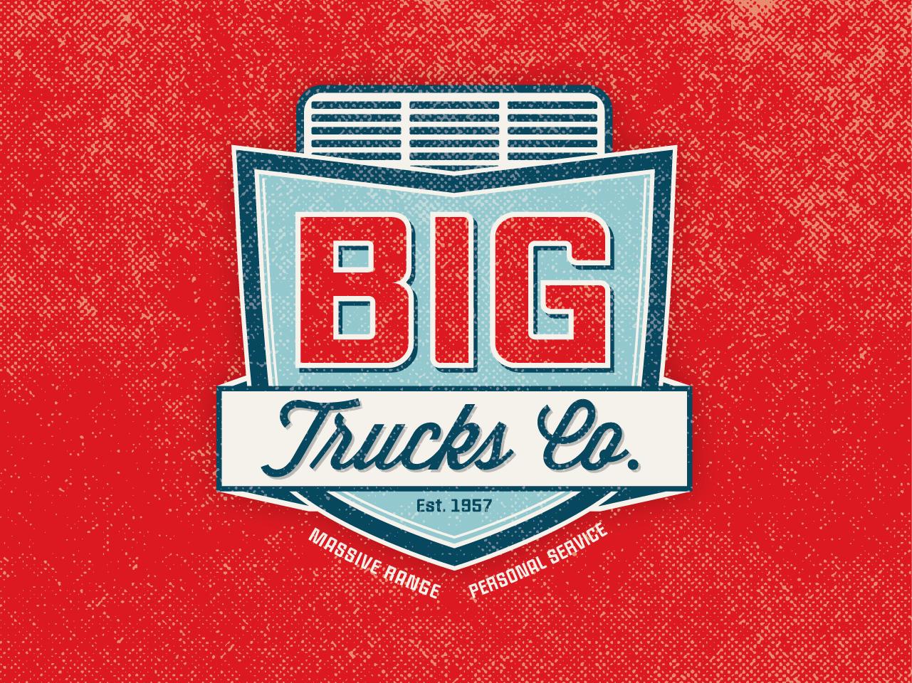BIG TRUCKS CO. - Logo Concept