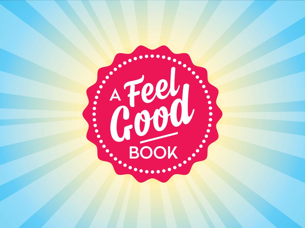FEEL GOOD BOOKS - Logo seal design