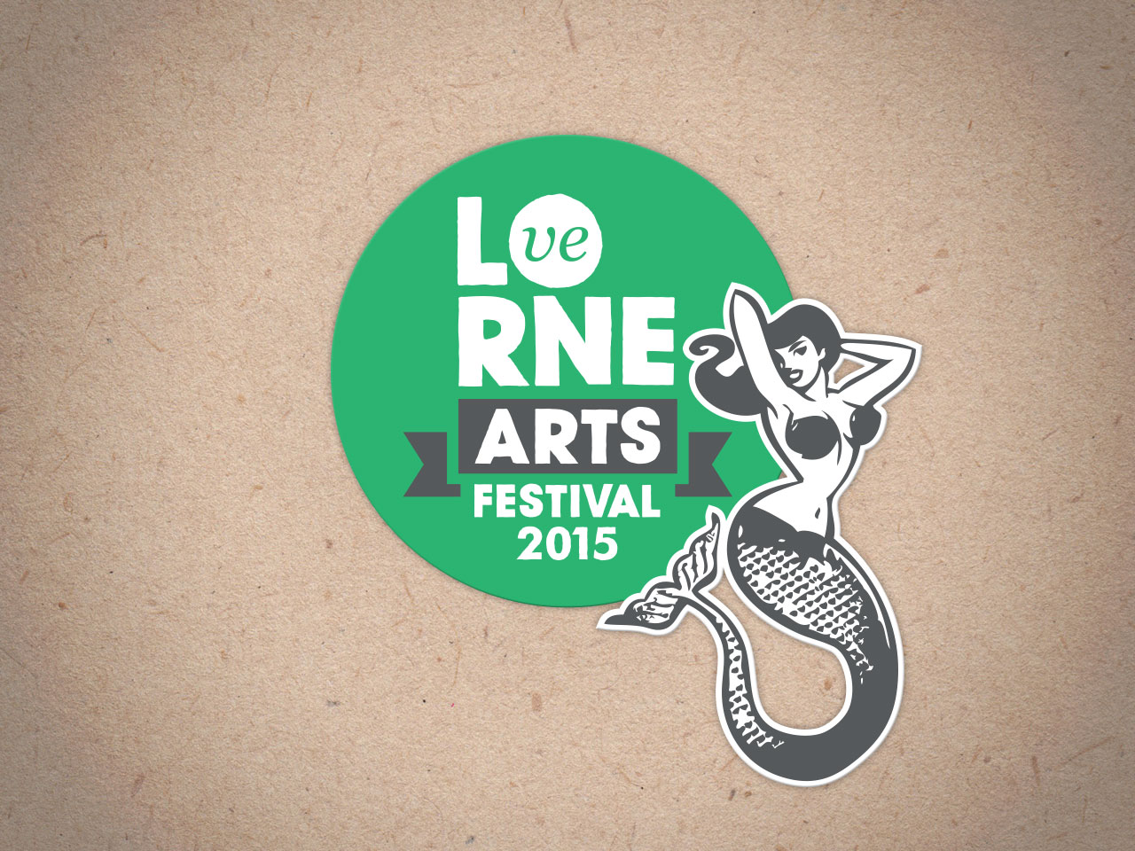 LORNE ARTS FESTIVAL: 2015 Logo Redesign and Creative