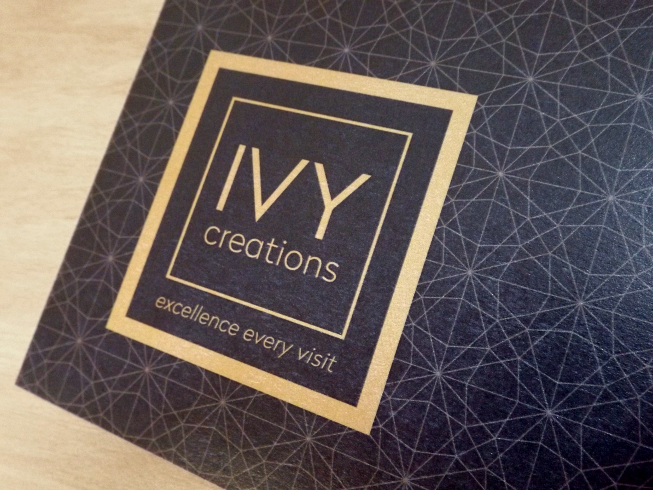 IVY CREATIONS - Rebranding. Morrison Design, Graphic Design and Branding Agency Geelong, Melbourne, VIC.