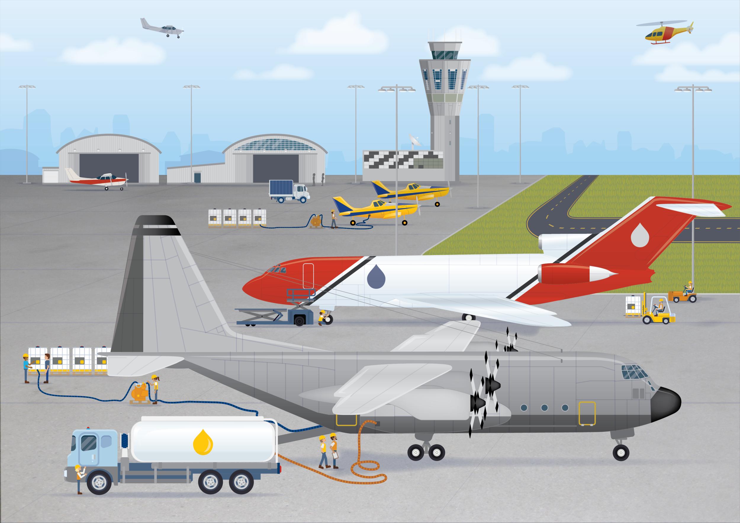 AMCS - Airport Illustration