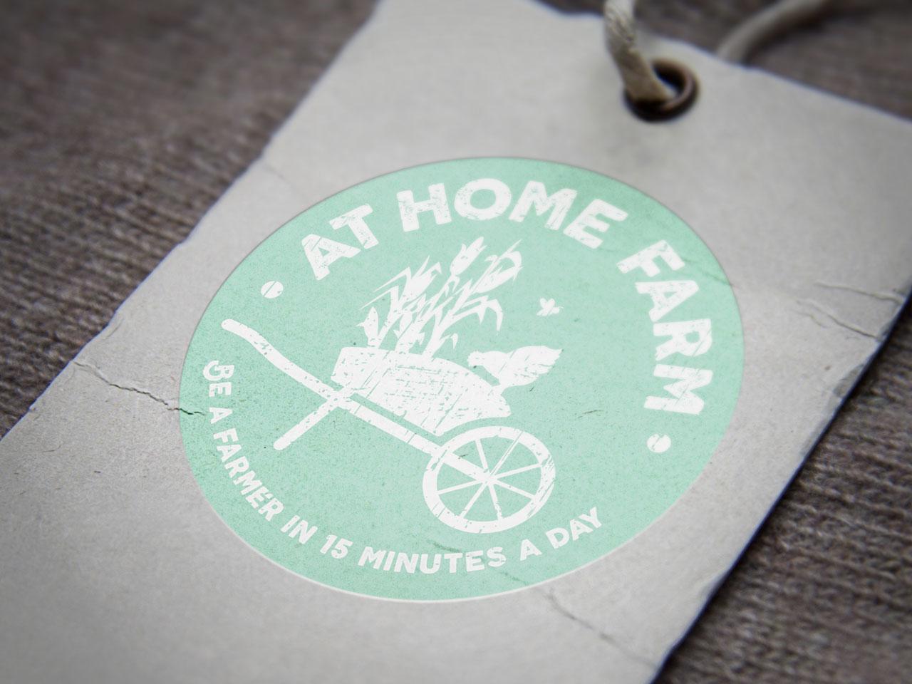 AT HOME FARM - Brand Identity Design