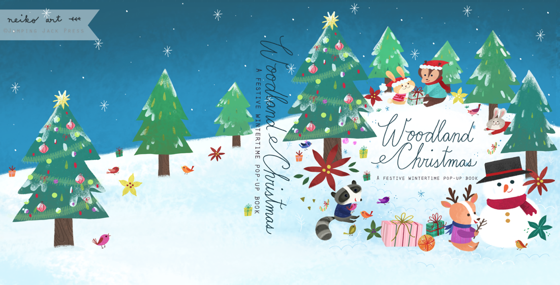 Woodland Christmas   2013 published by Jumping Jack Press