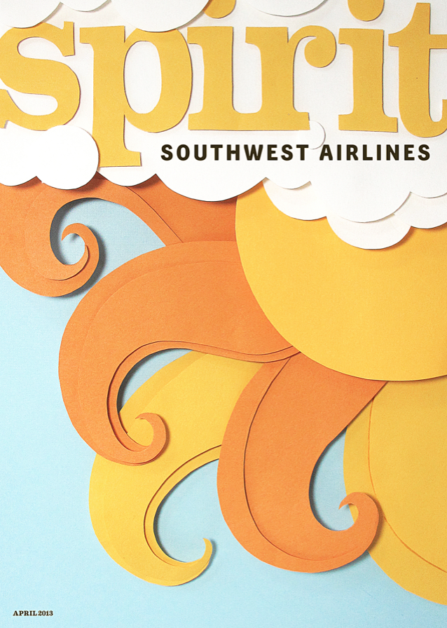 Papercut for Southwest Airlines Magazine