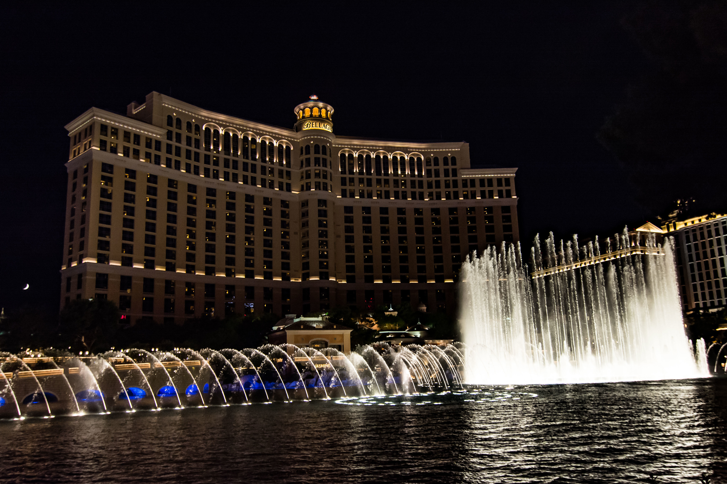 Classic Vegas. And it's my favorite looking hotel. Bellagio.