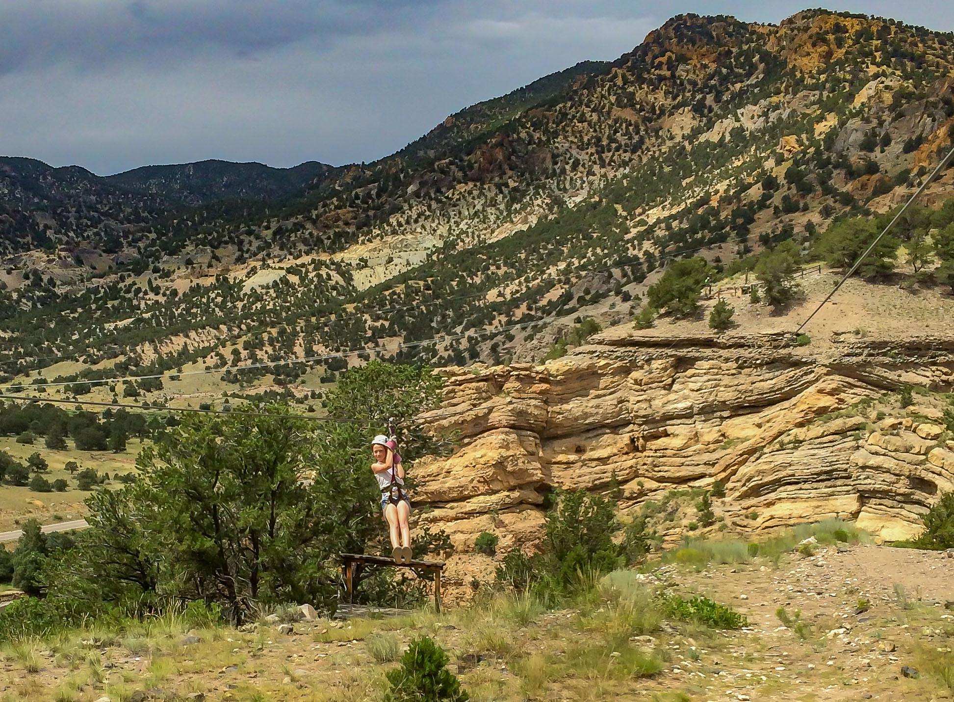 Little MK, big canyon.