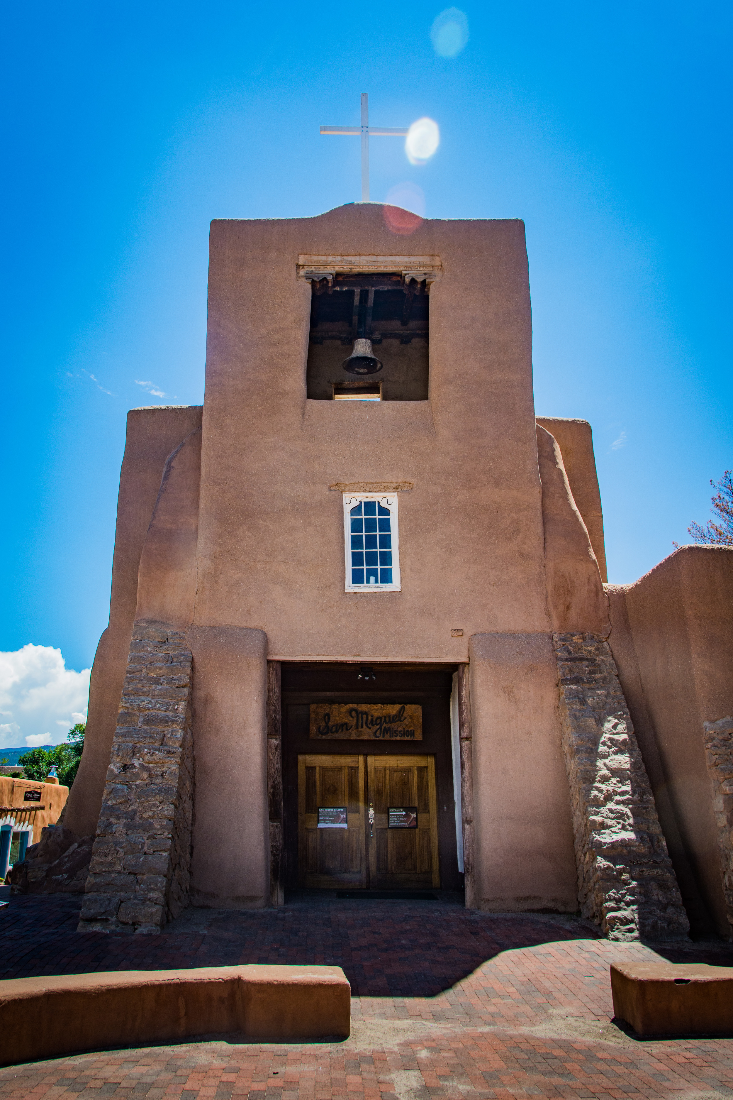 San Miguel Mission, the oldest church in the US.