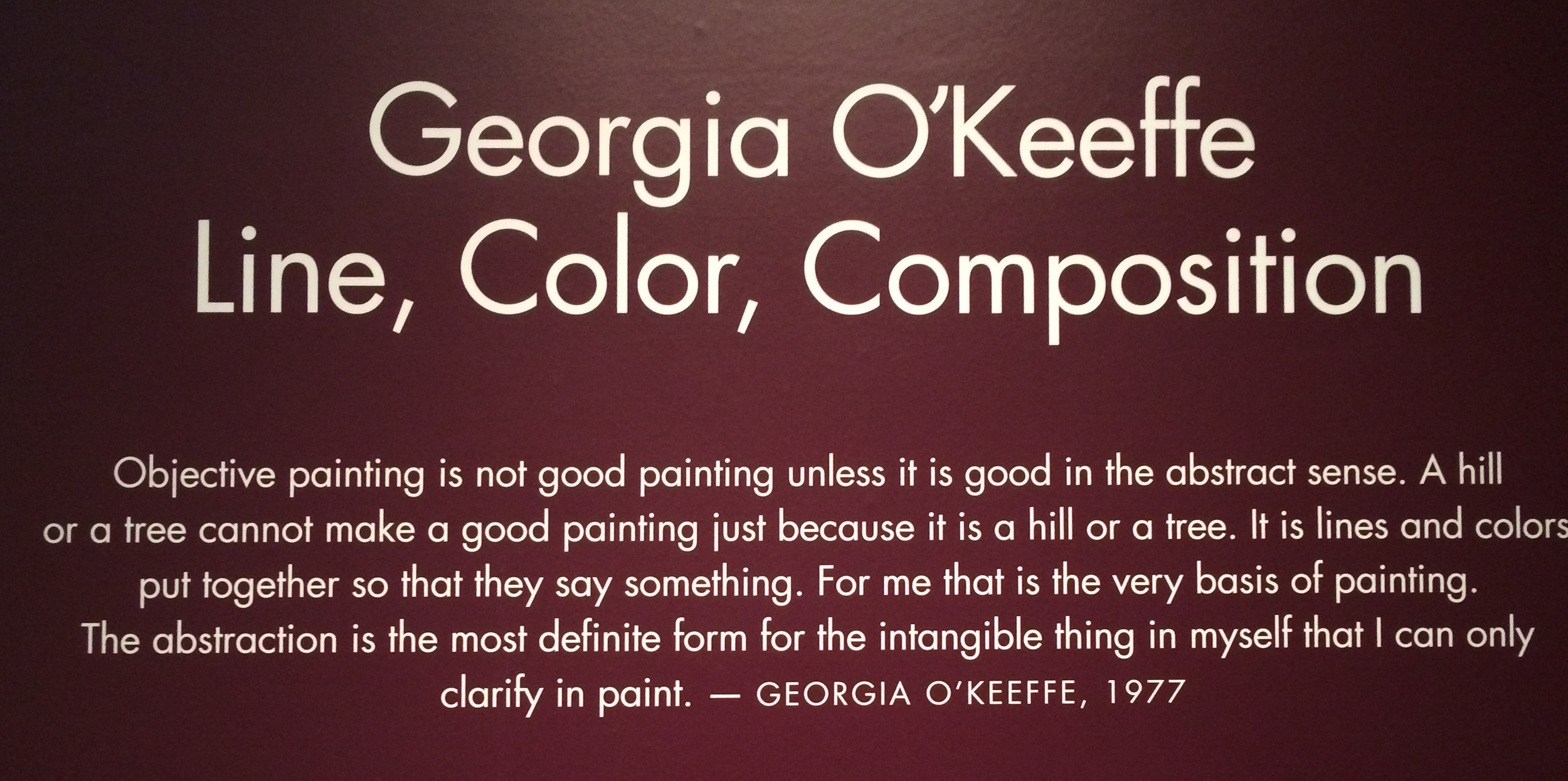 Testify, Sister! You can replace 'painting' with 'photography' and still have a bunch of truthiness.