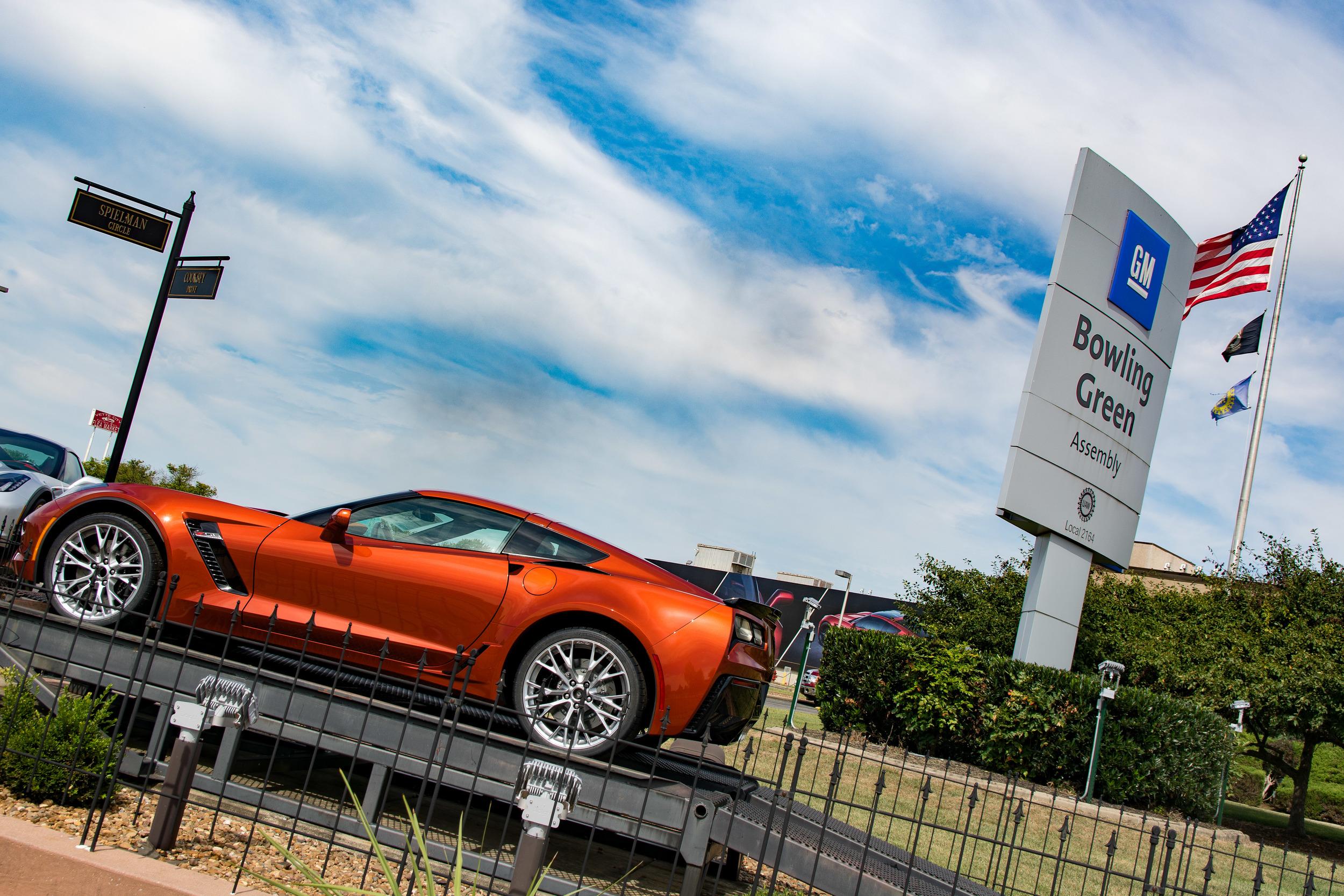 Where Corvettes are born.