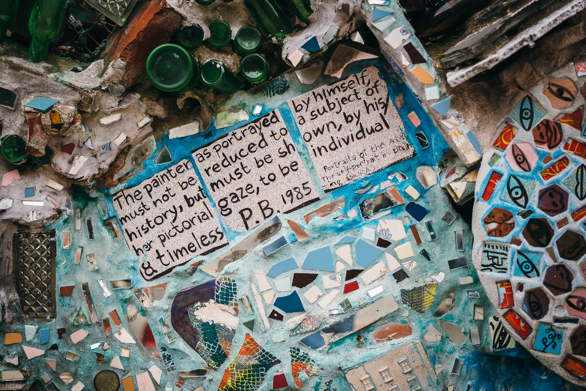 Philadelphia Magic Gardens Engagement Session Katy Brad