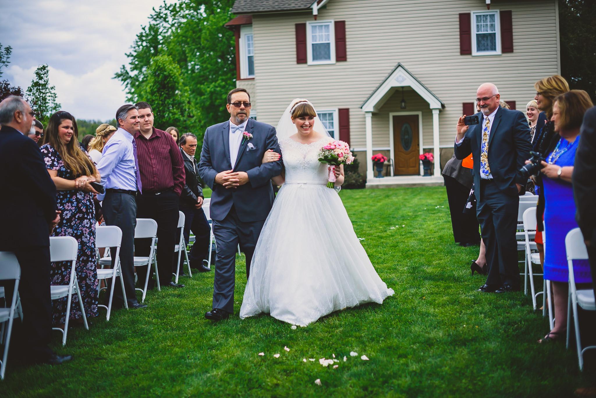 Wedding at Warrington Country Club