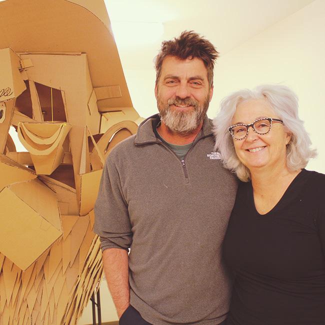 Wayne White and Mimi Pond.