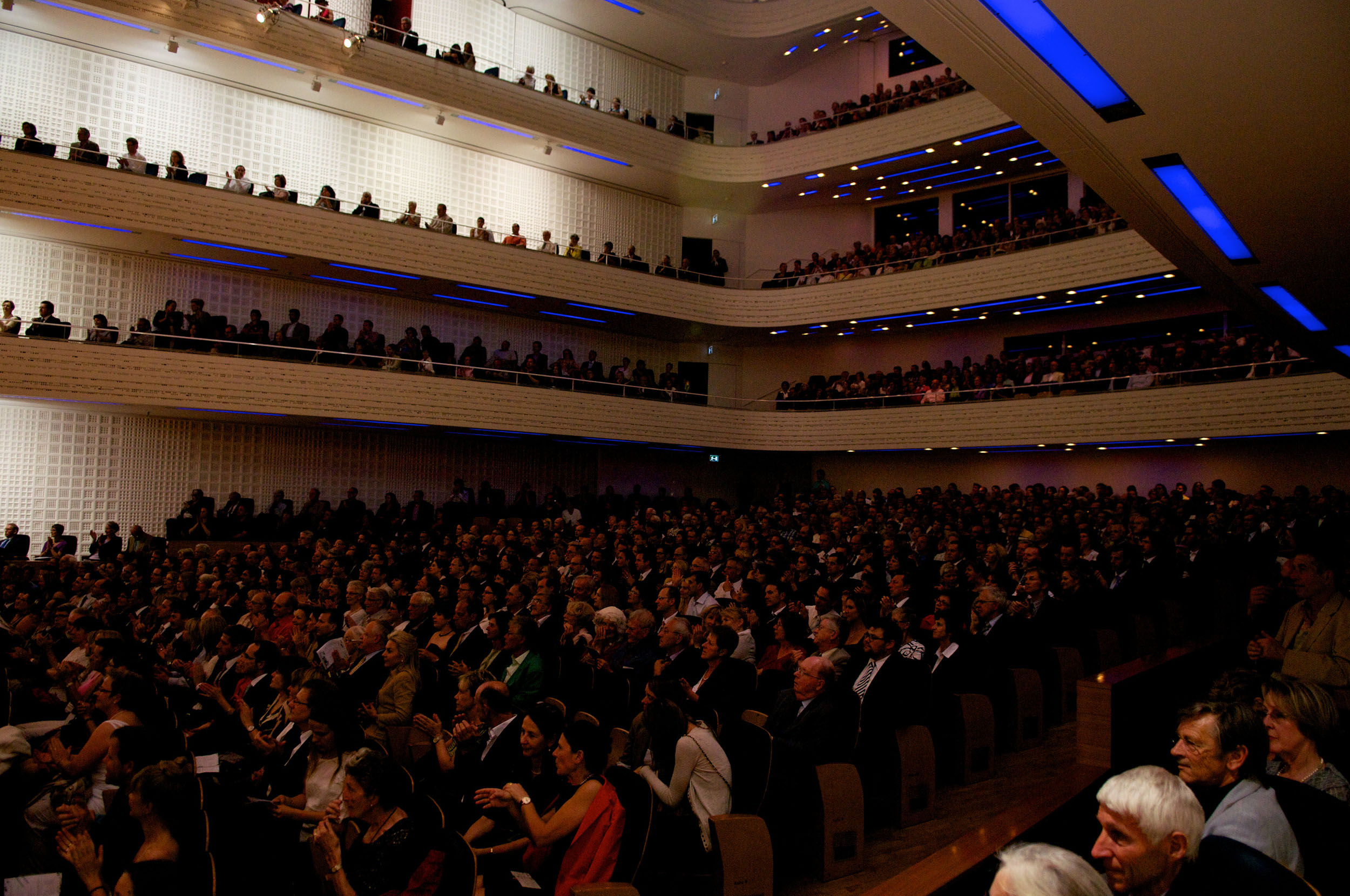 Human Rights Orchestra audience in Lucerne, Switzerland