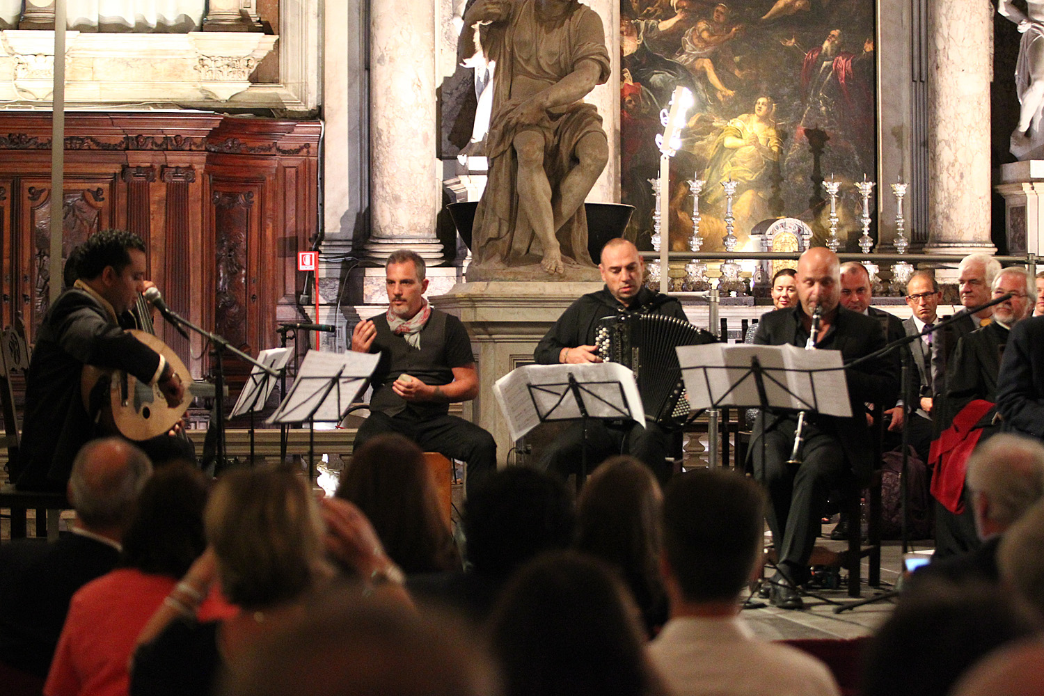 2016 Venice, Italy: The Human Rights Band performing for the graduating class of the European Inter-University Centre for Human Rights and Democratisation