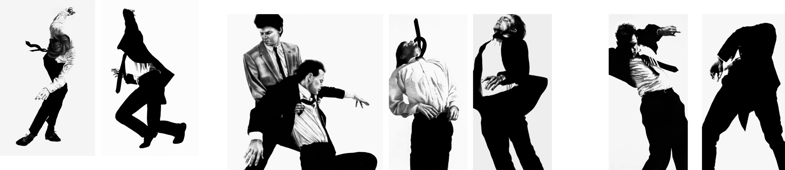 Robert Longo Men in Cities