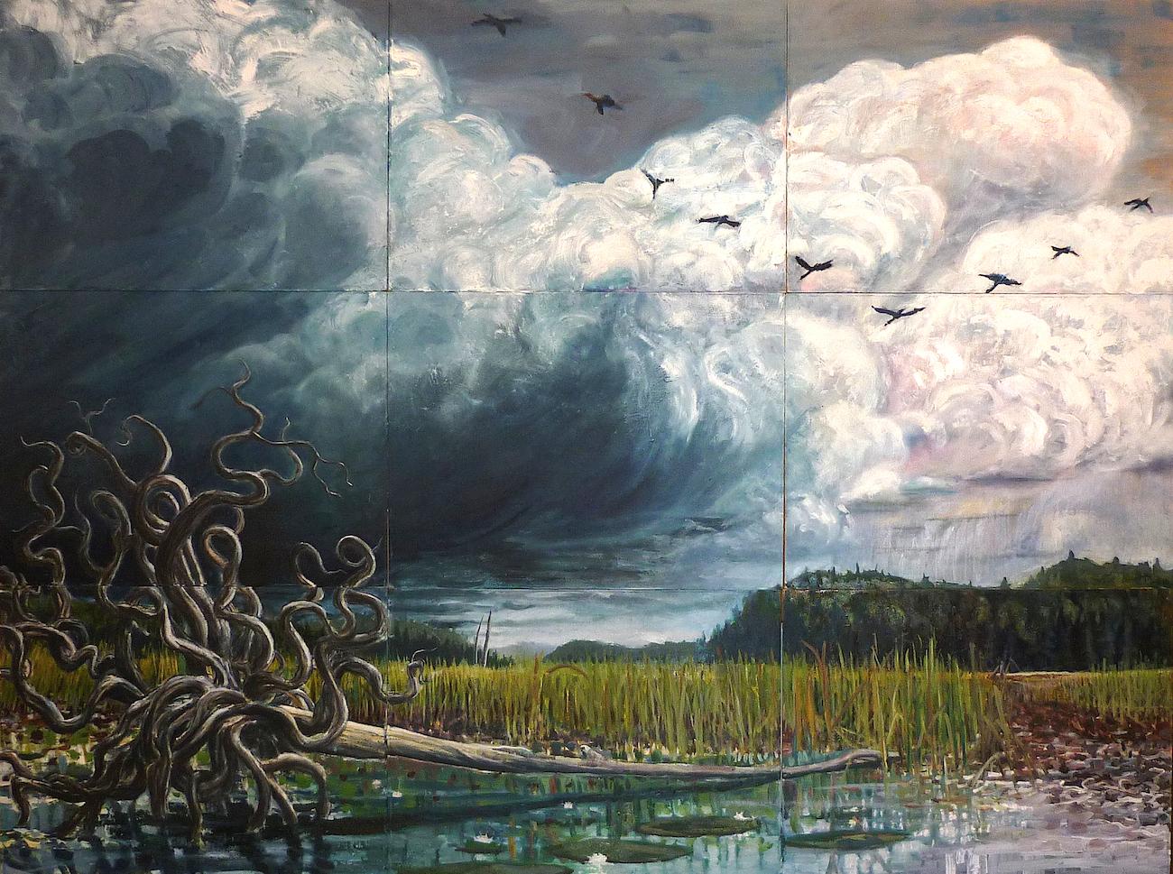 gdeerman 'Fallen Tree at the Edge of the Swamp'.jpg