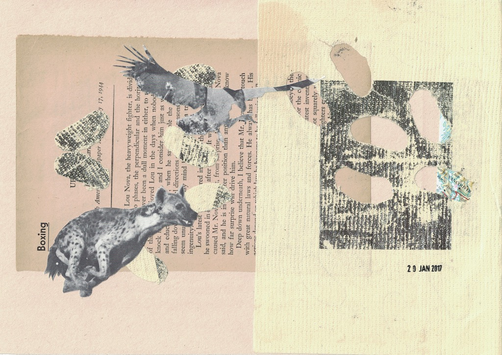 """untitled collage 8""""x10"""""""