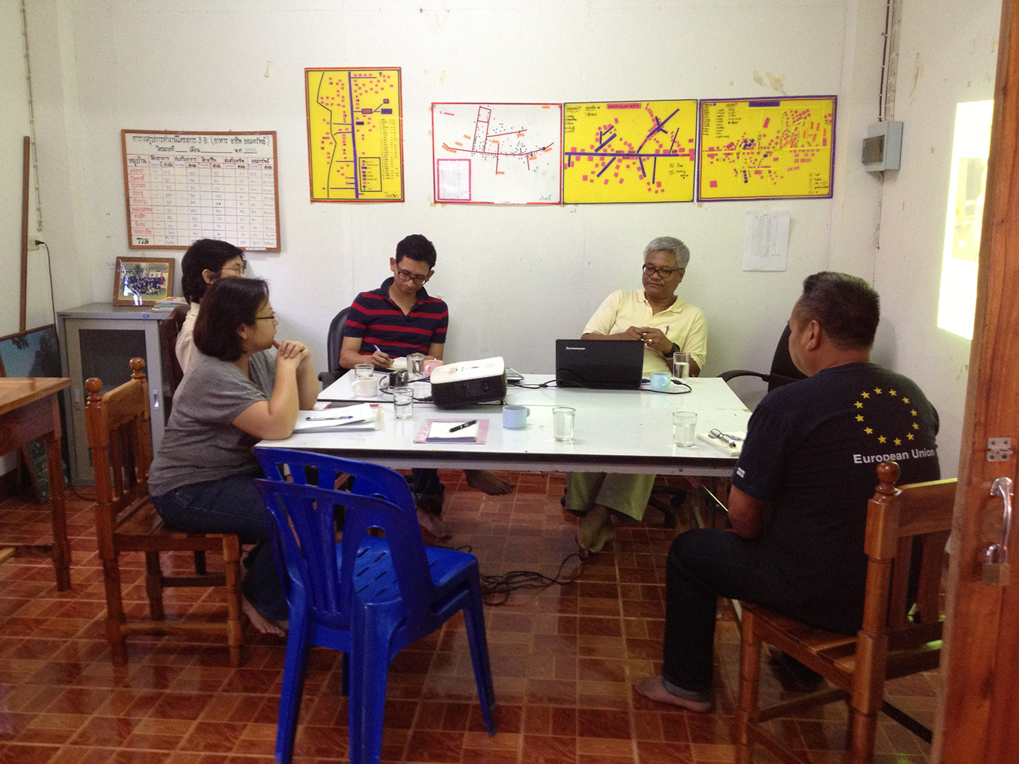 Introductory meeting at Pattanarak office
