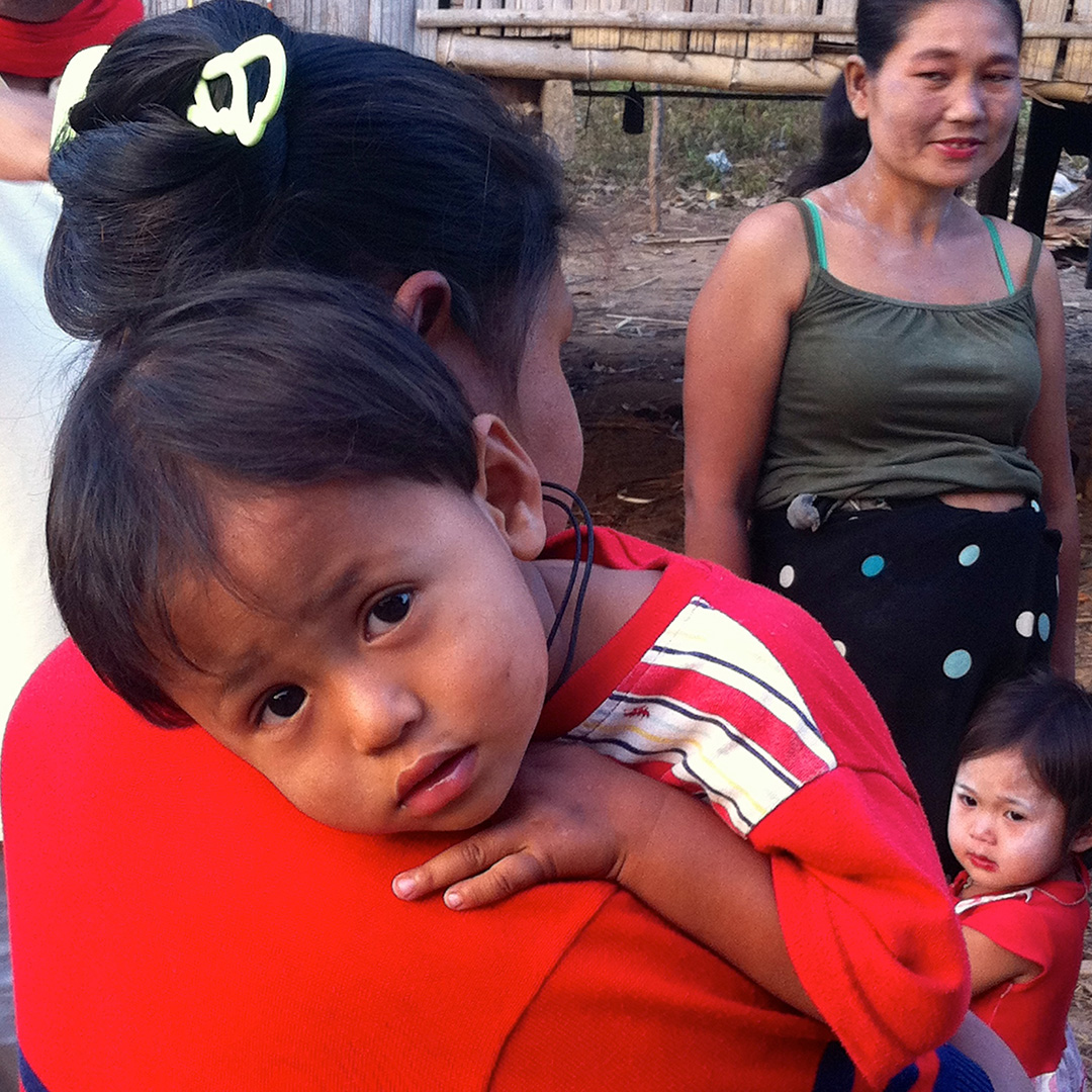 Children and mothers (Fung Na community)