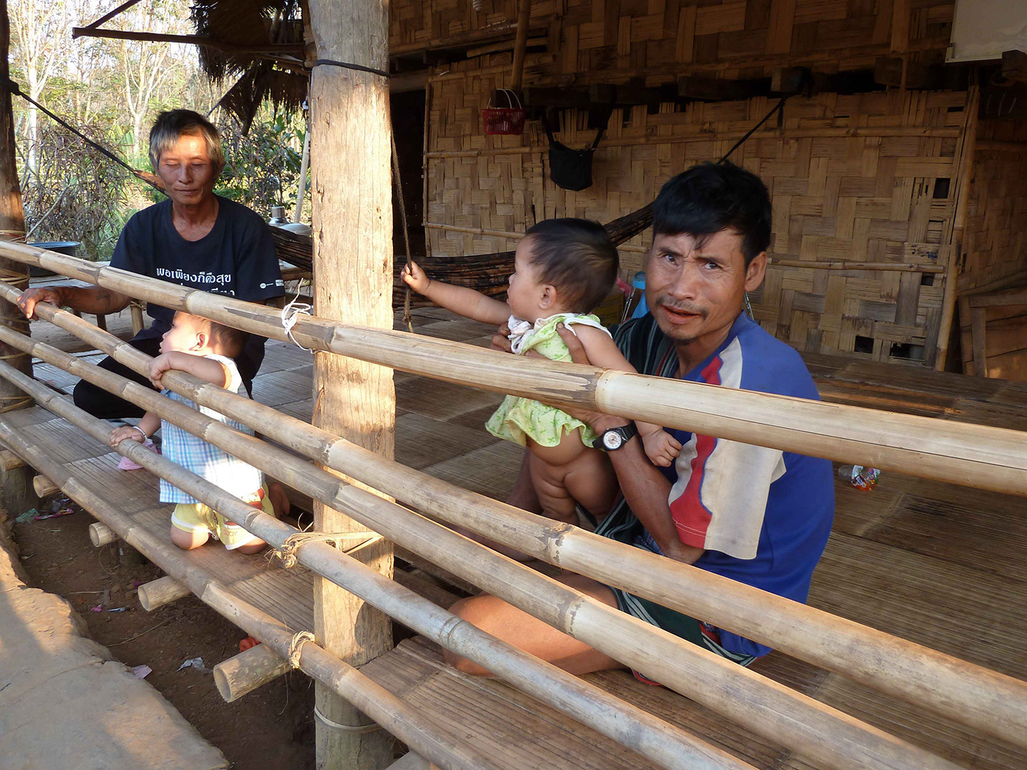 Children being cared for (Fung Na community)