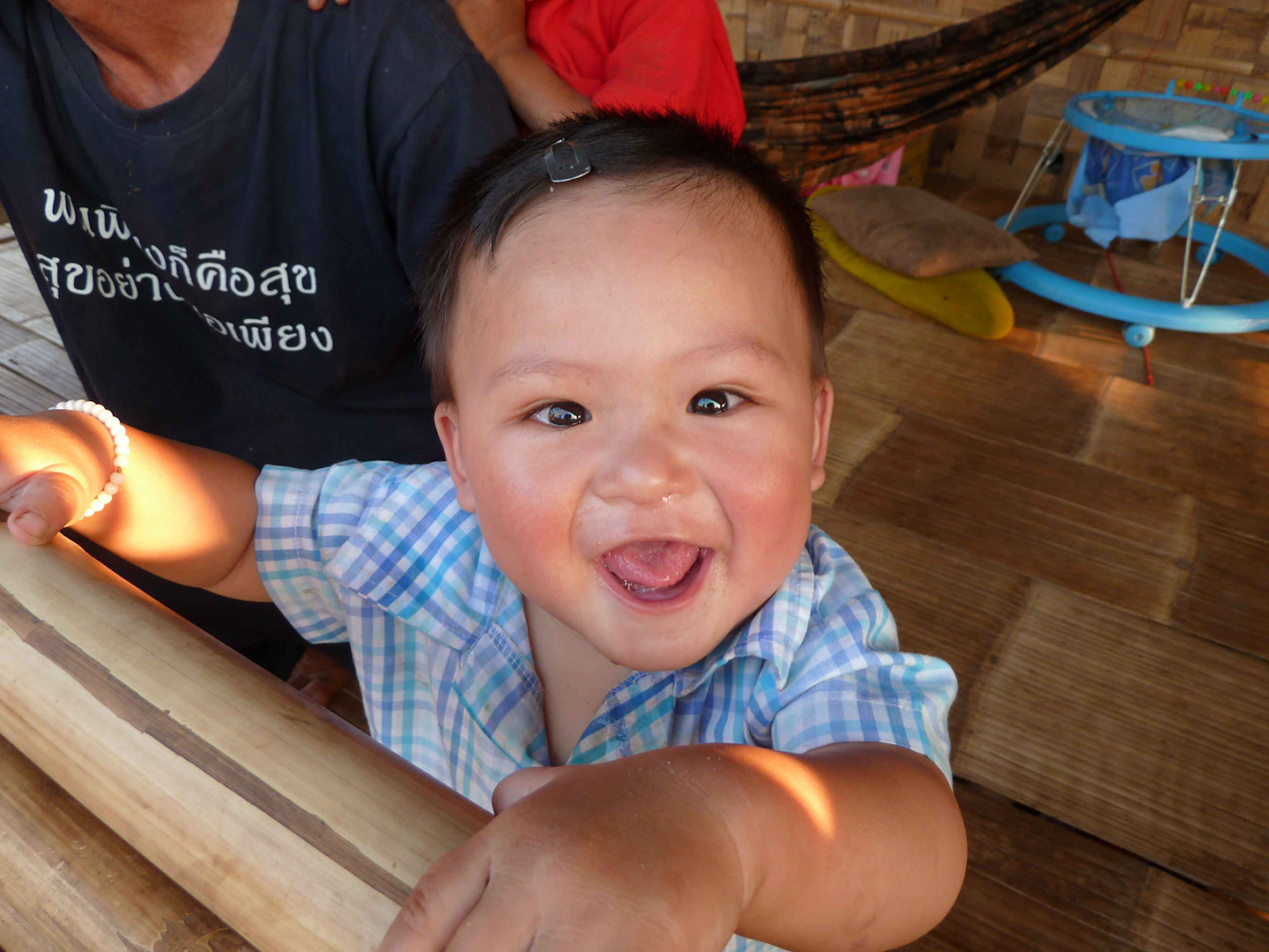One of the children being cared for (Fung Na community)