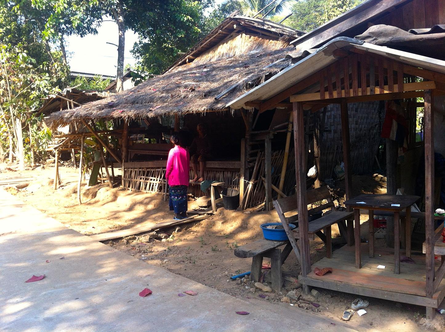 Visiting Mong Sa Tur community