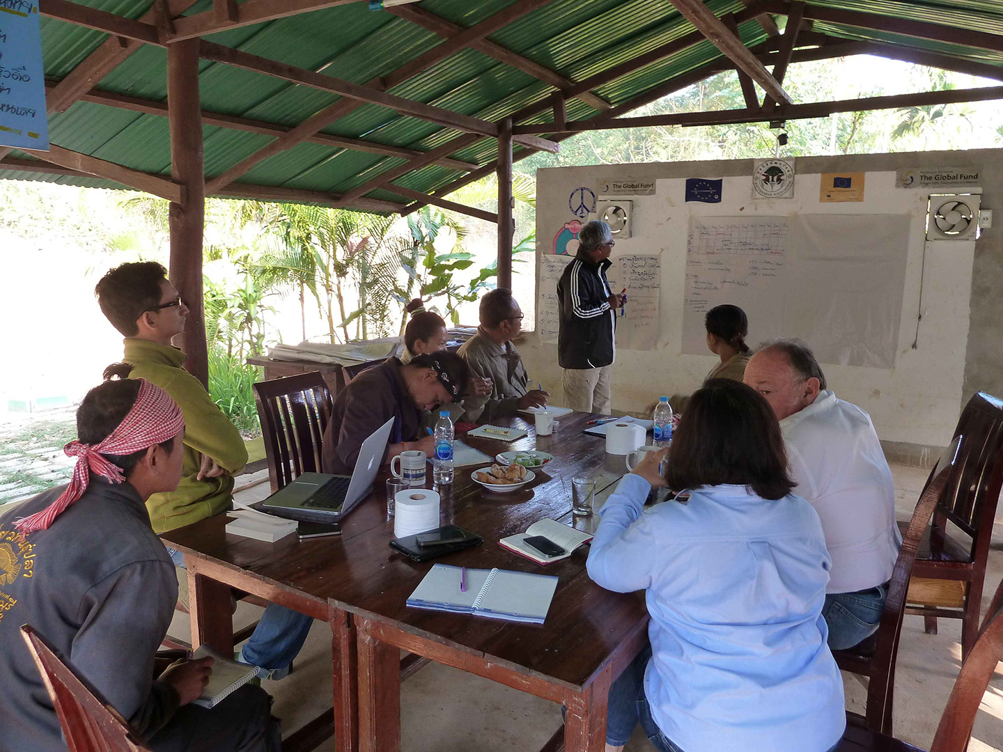 Summarizing the visit and refining the work plan