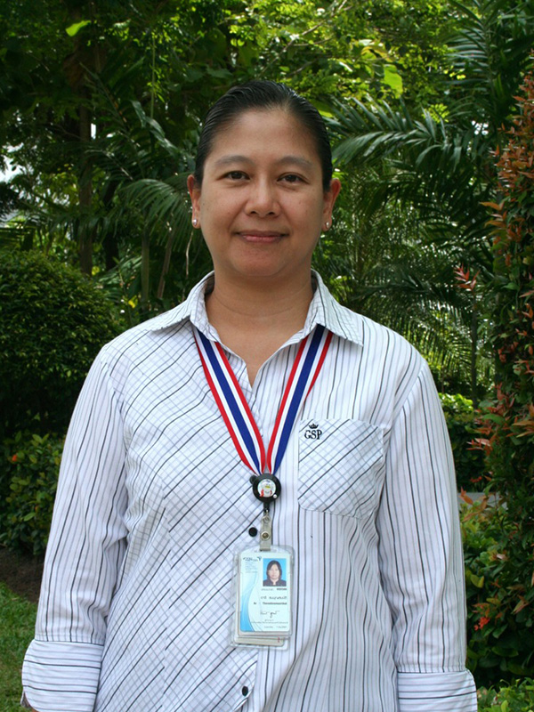 Aree Thanaboonsombut, Ph.D.  MTEC  Project Advisor
