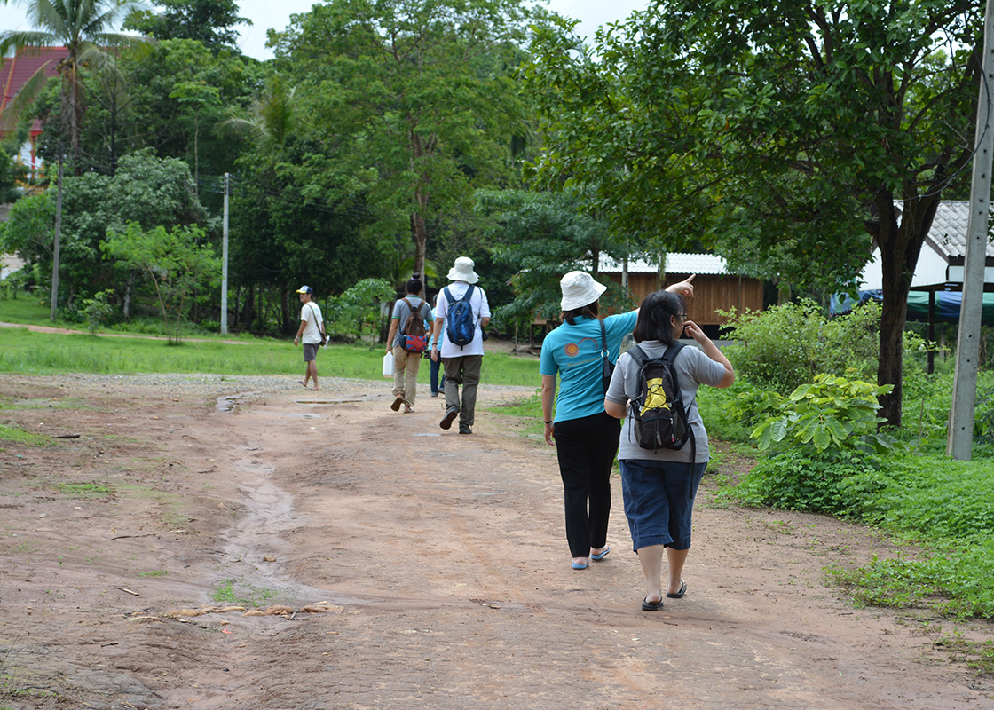 Visiting Ban Mai after the rain
