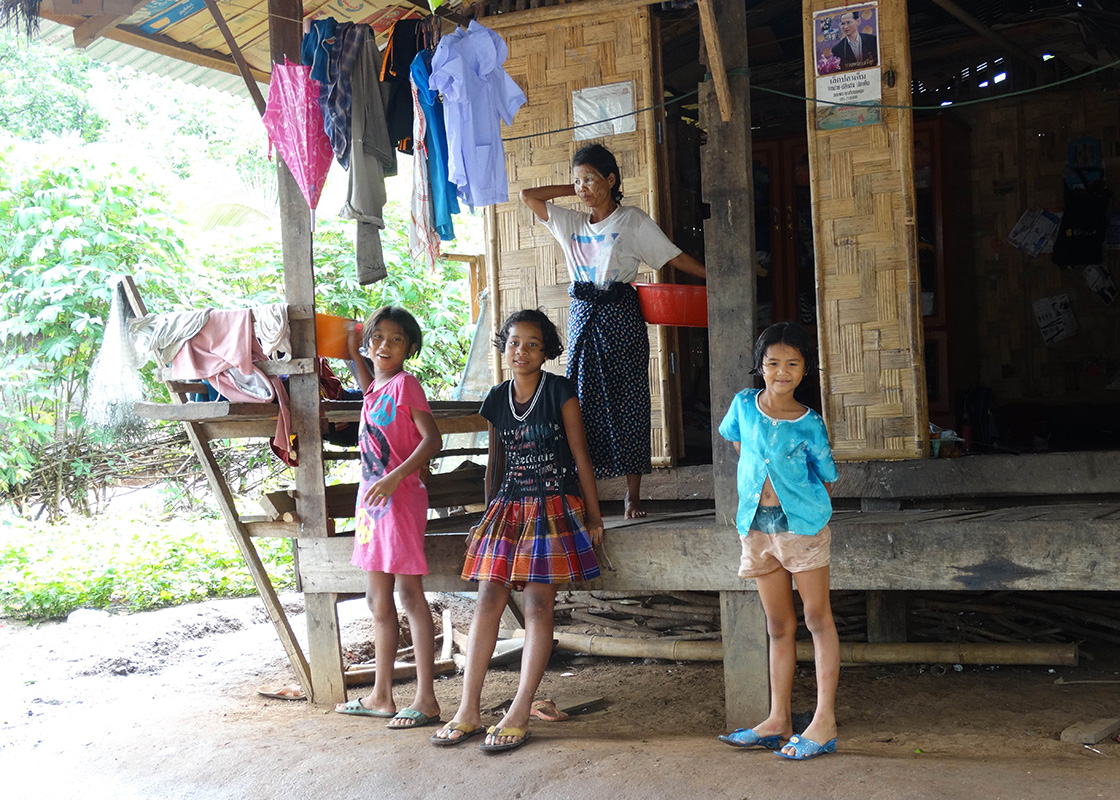 The locals in Ban Mai