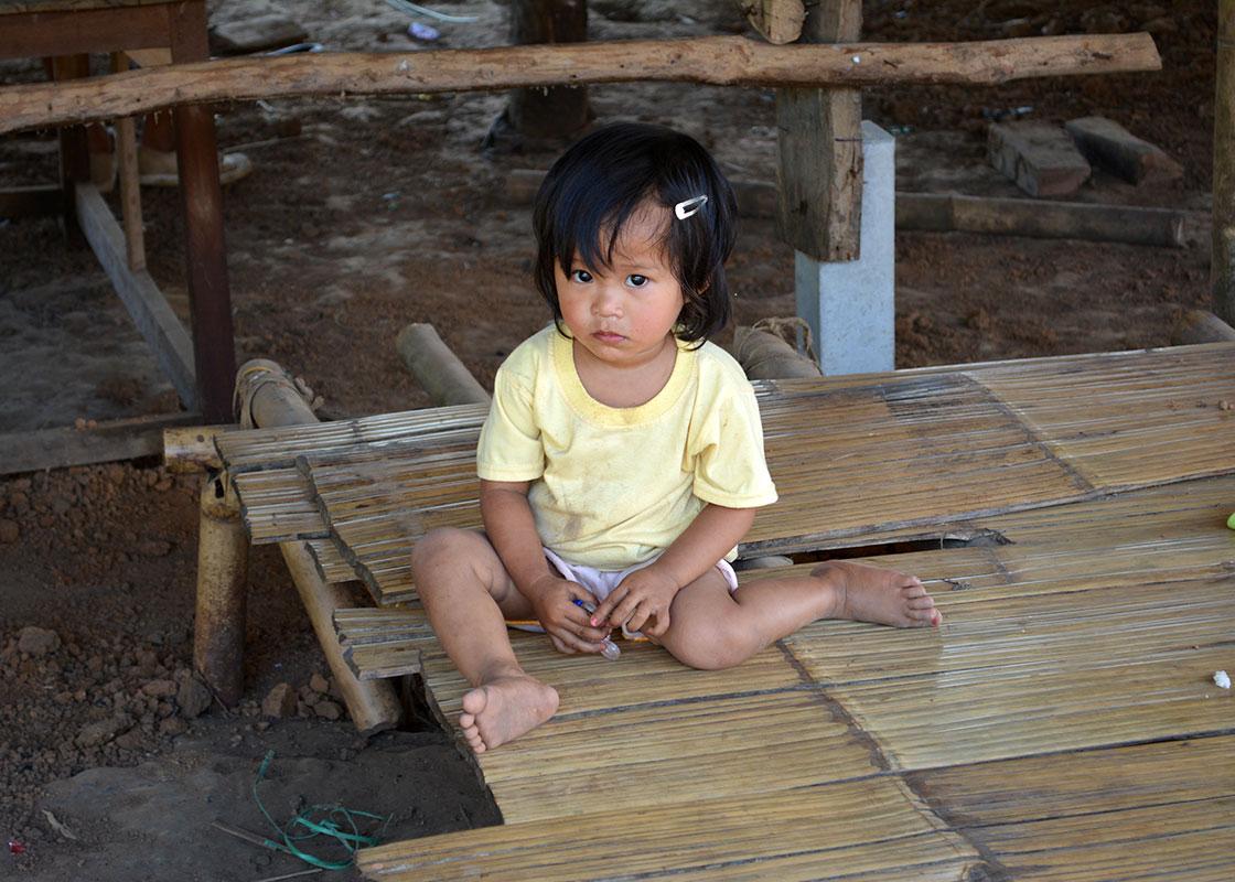 A girl in Fung Na