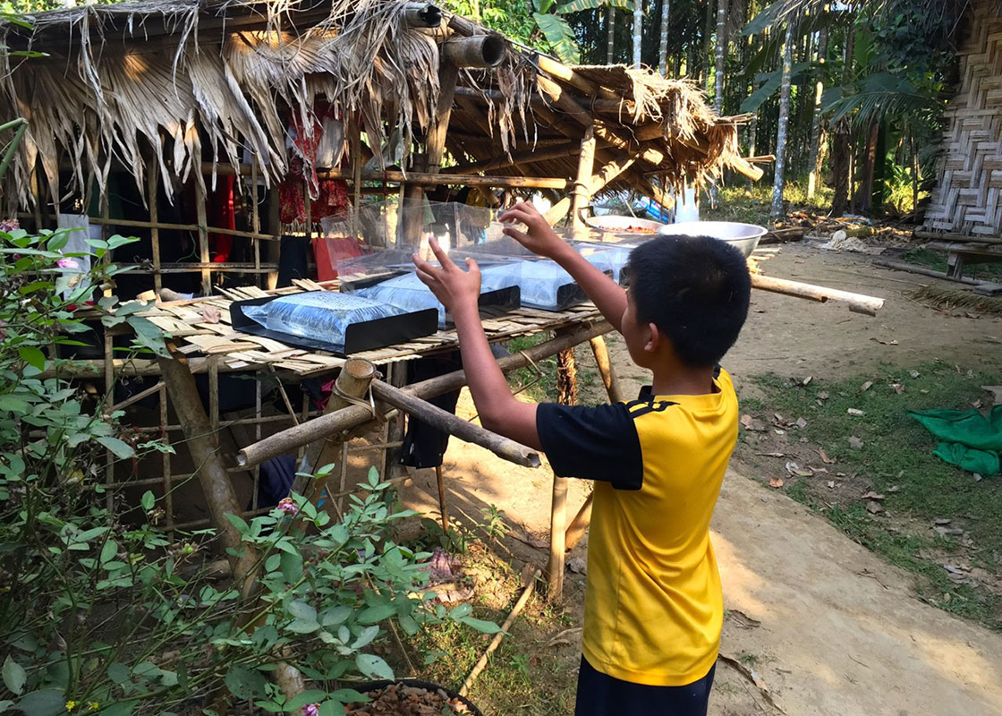 One of the households in Viakadee who recently joined the SODIS X usability study
