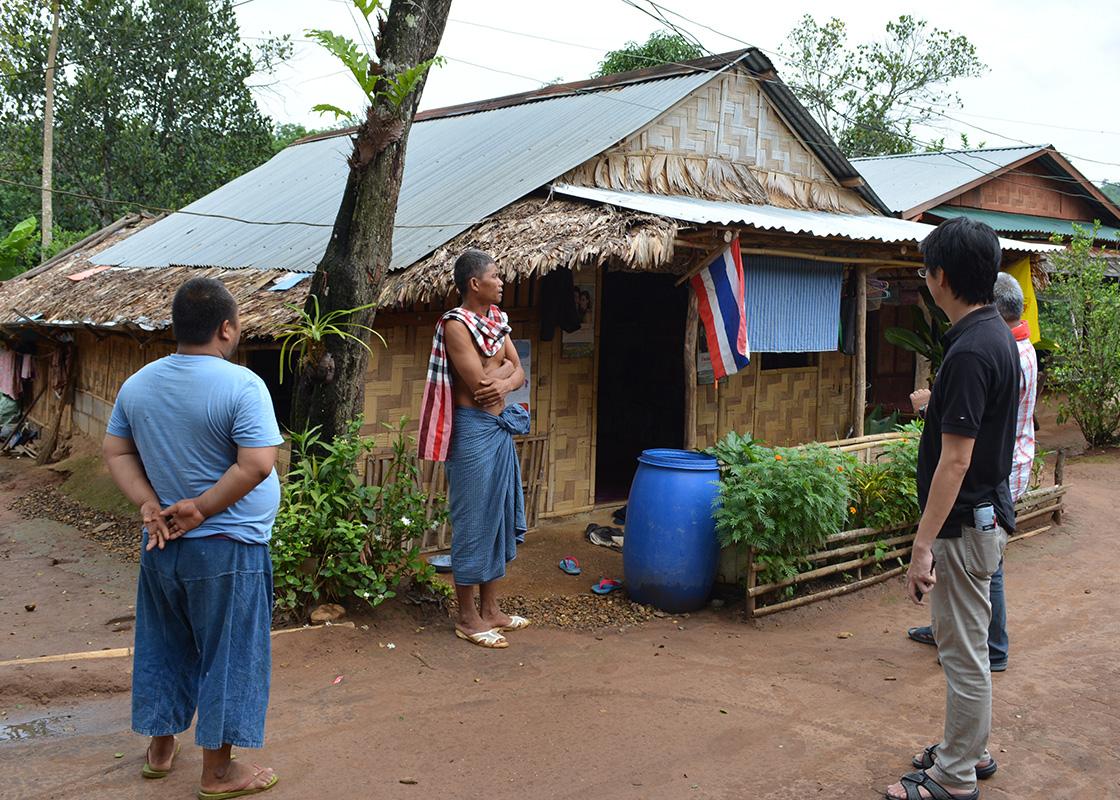 Visiting SODIS X users in Ban Mai