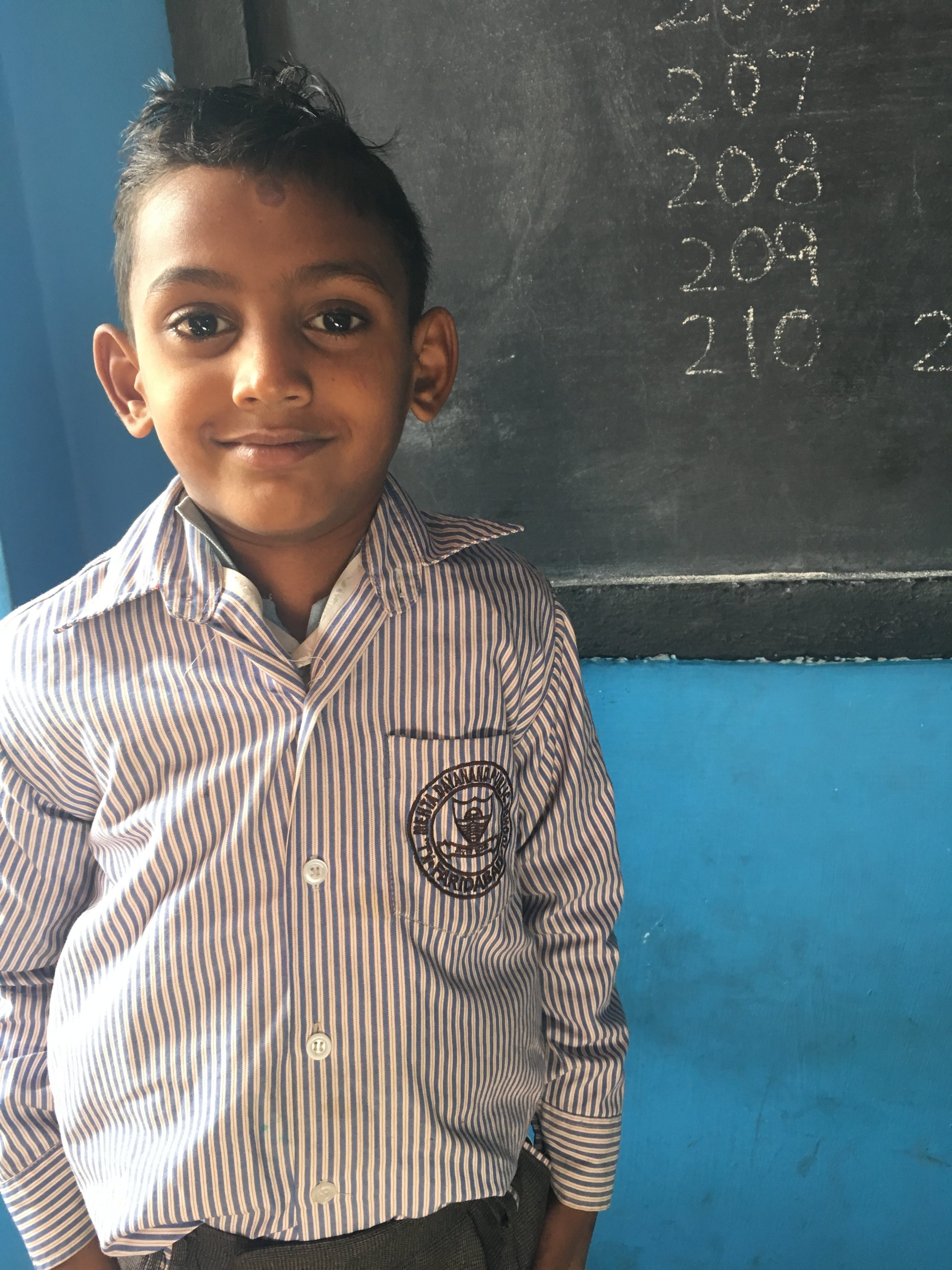 Adarsh - (S2S-238)Currently in need of sponsorship. Click here to sponsor Adarsh or another scholar for just $30/month!Sponsored previously by the Jamal family, Canada