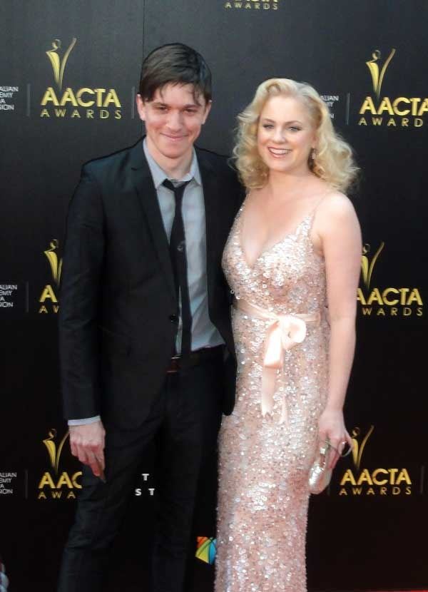 Abe Forsythe and Helen Dallimore