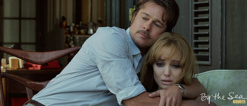 Brad Pitt & Angelina Jolie Pitt in BY THE SEA. photo by merrick morton. Universal pictures