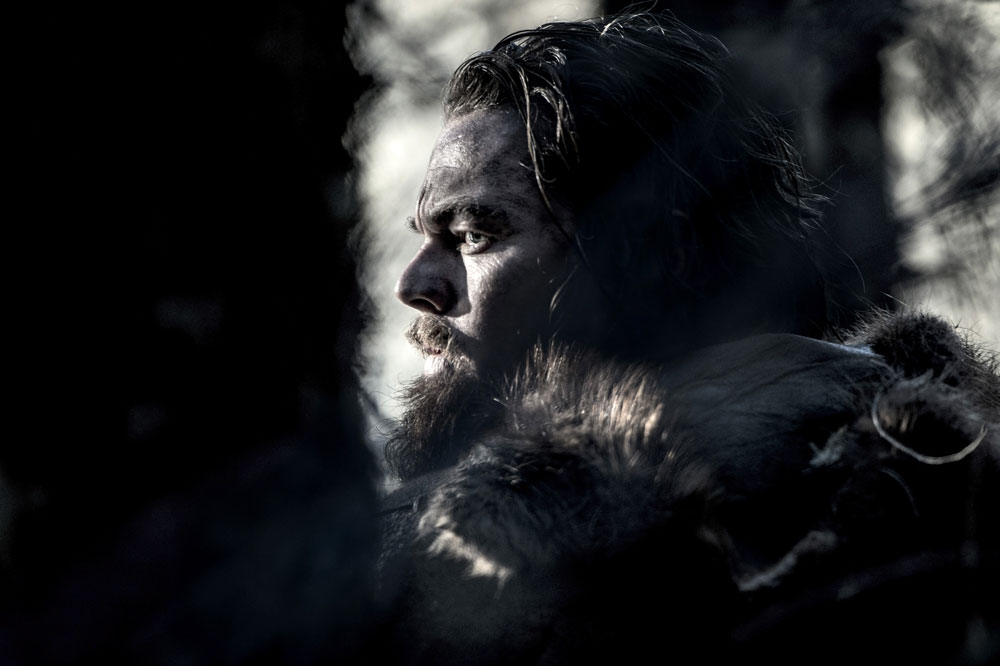 Leonardo DiCaprio in THE REVENANT. Photo by Jason Bell