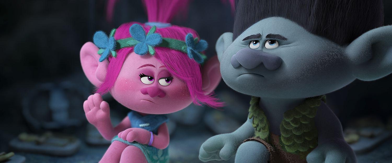 Poppy & Branch in DreamWorks TROLLS