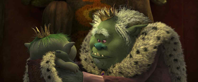 King Gristle, Jr & King Gristle in DreamWorks TROLLS